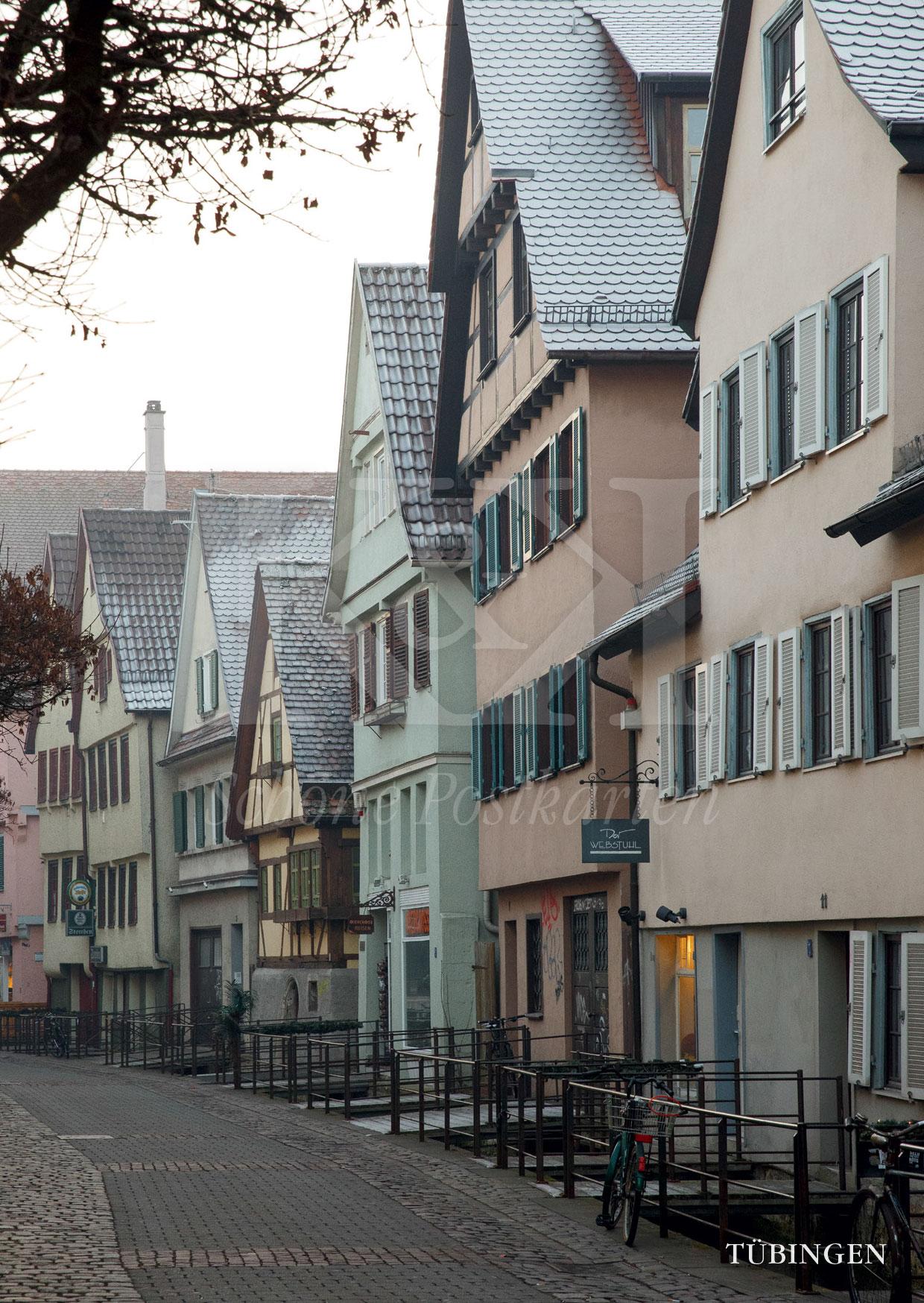 Schöne Postkarte Nr. 211 · Tübingen, Ammergasse © 2017