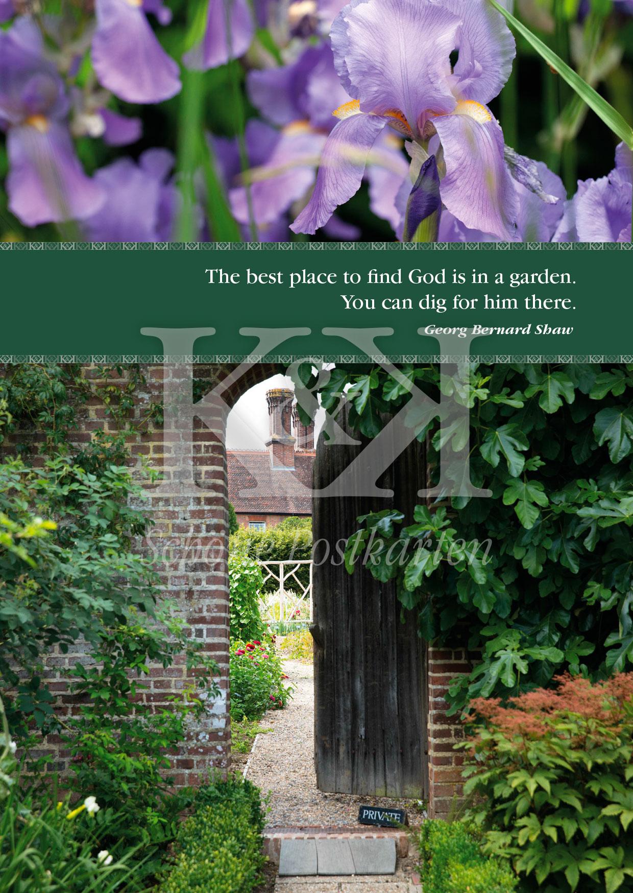 <strong>Schöne Postkarte Nr. 13</strong> · Dig in the Garden © 2018