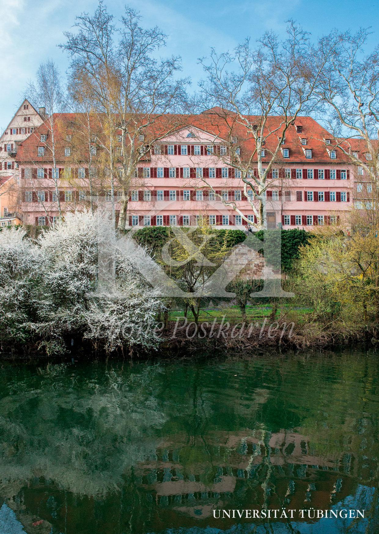 Schöne Postkarte Nr. 255 · Burse am Neckar, Universität Tübingen © 2018