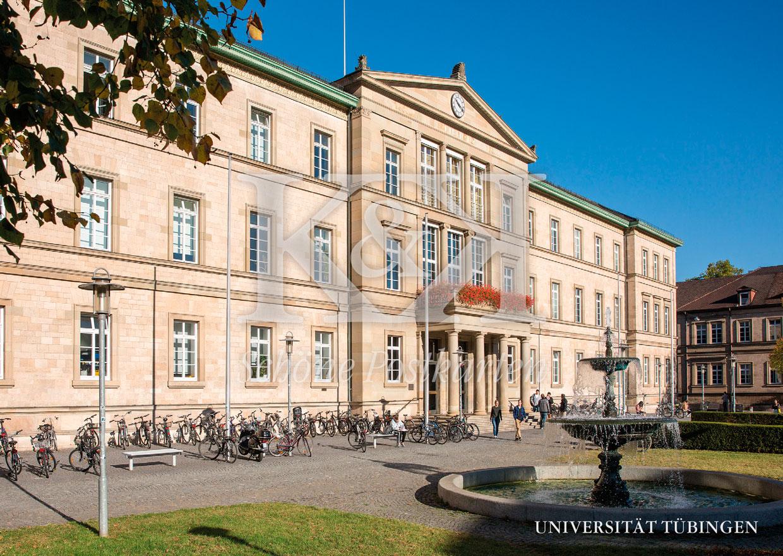Schöne Postkarte Nr. 256 · Neue Aula, Universität Tübingen © 2018