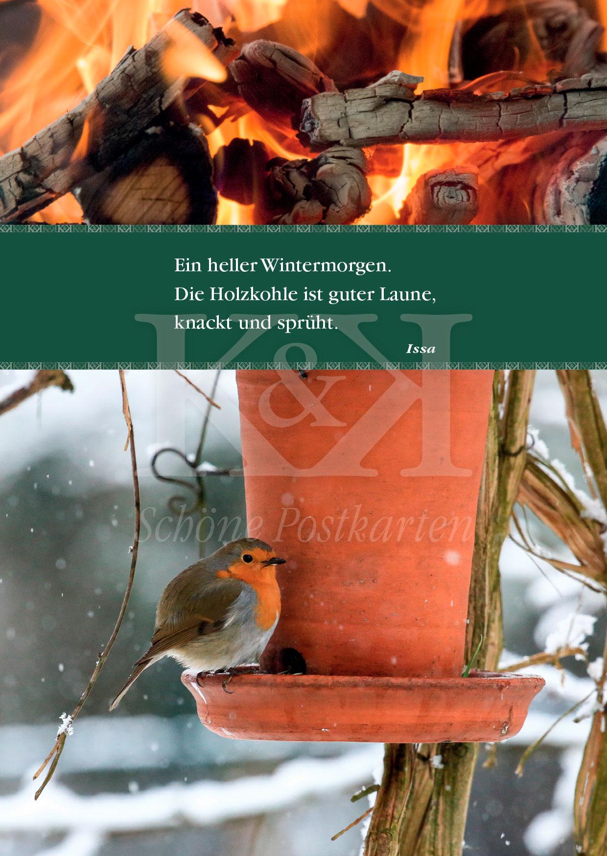 >>> NEU: Schöne Postkarte Nr. 122 · Der große Issa, Meister der kleinen Form