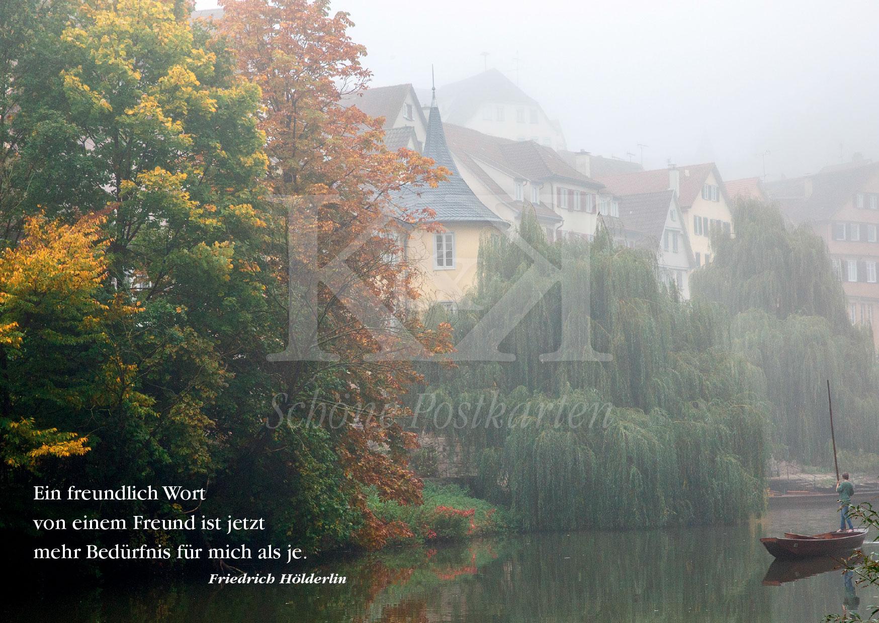 >>> NEU: Schöne Postkarte Nr. 39 · Ein fast magischer Ort: der Hölderlinturm